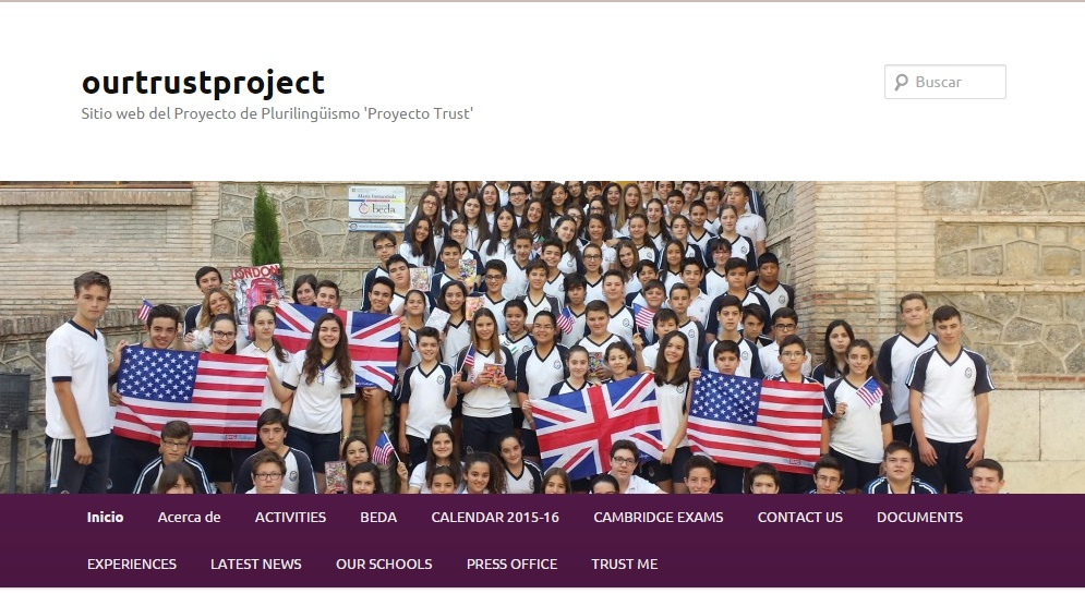 Project Trust: OUR NEW WEB