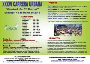 PORTADA DIPTICO CARRERA URBANA 2016