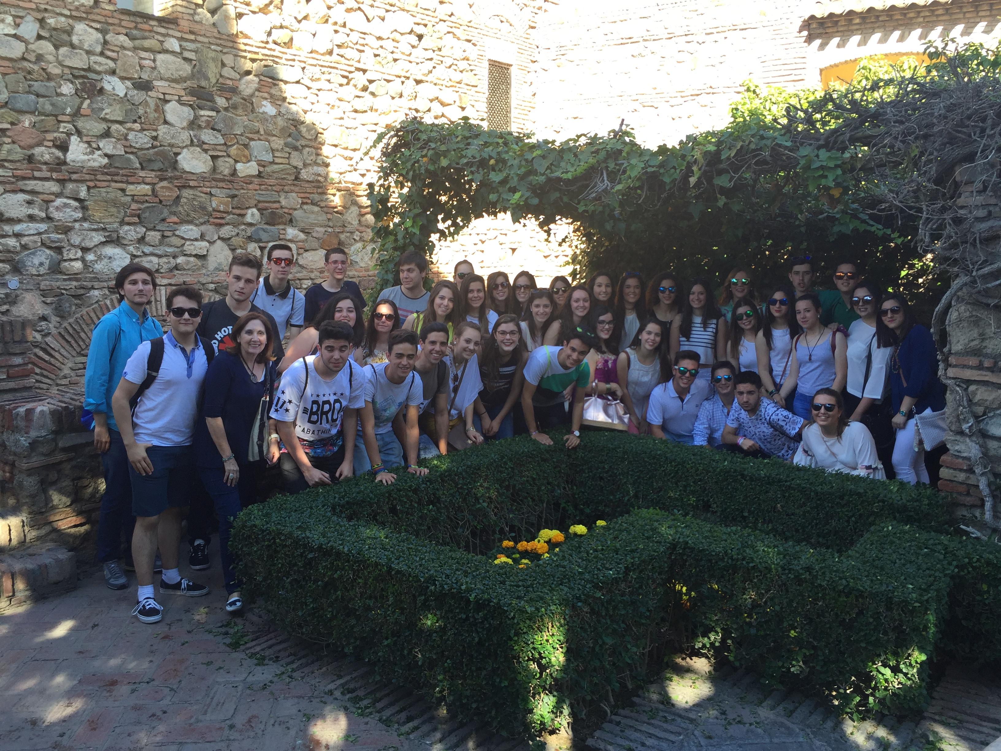 Excursión a Málaga. 1º Bachillerato