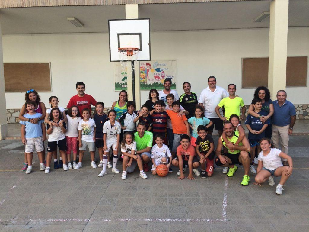 Encuentro deportivo Padres/alumnos/profesores/AMPA