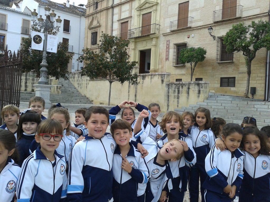 Visitan el museo los alumnos de 1º y 2º de Primaria.