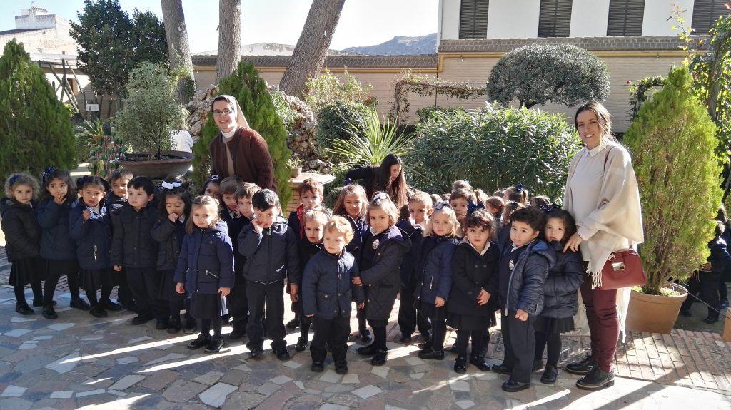 Visita al Colegio Nuestra Señora de La Victoria