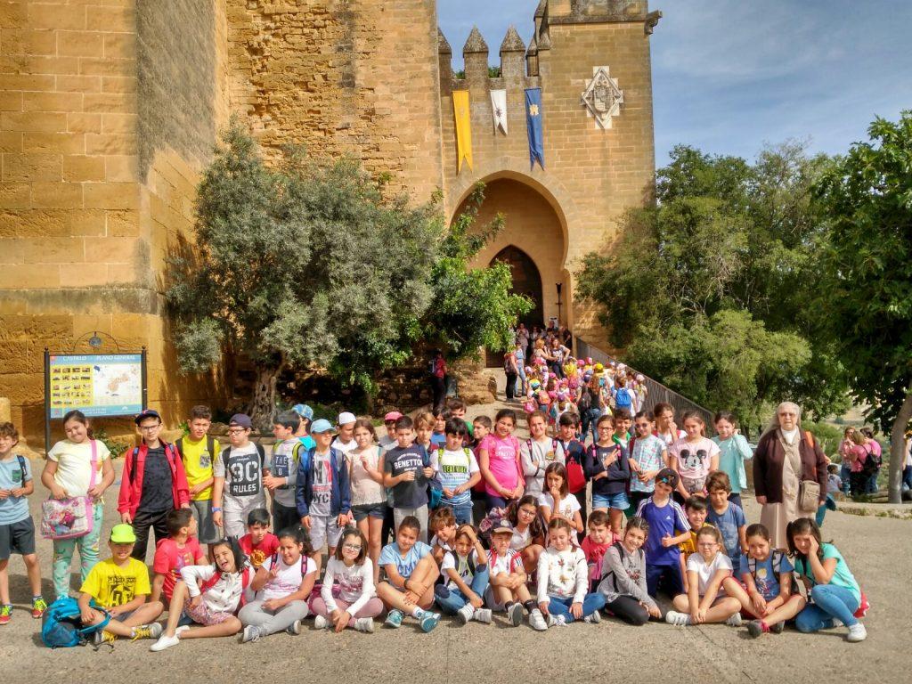 4º Primaria visita el Castillo de Almodóvar