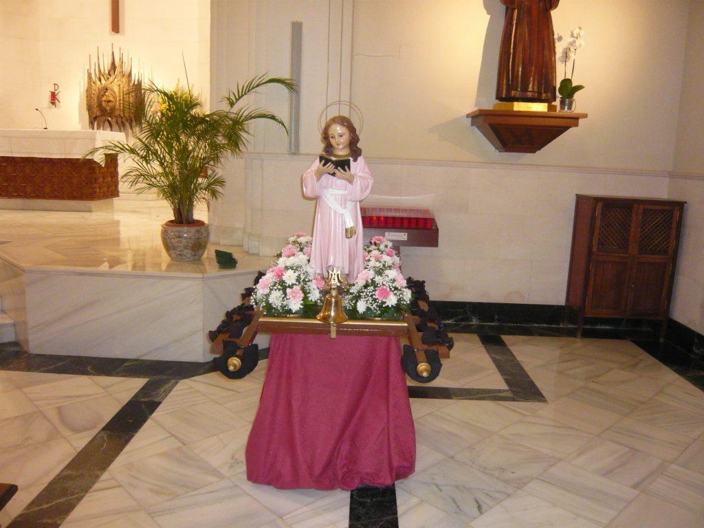 Celebración de la Virgen Niña
