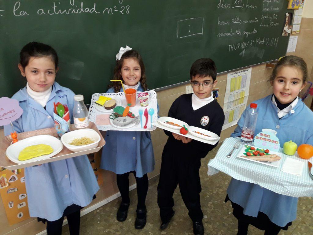 Comida Saludable en 3° Ed. Primaria
