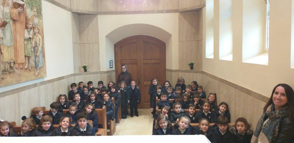 4 y 5 años de Infantil visita el colegio de la Victoria