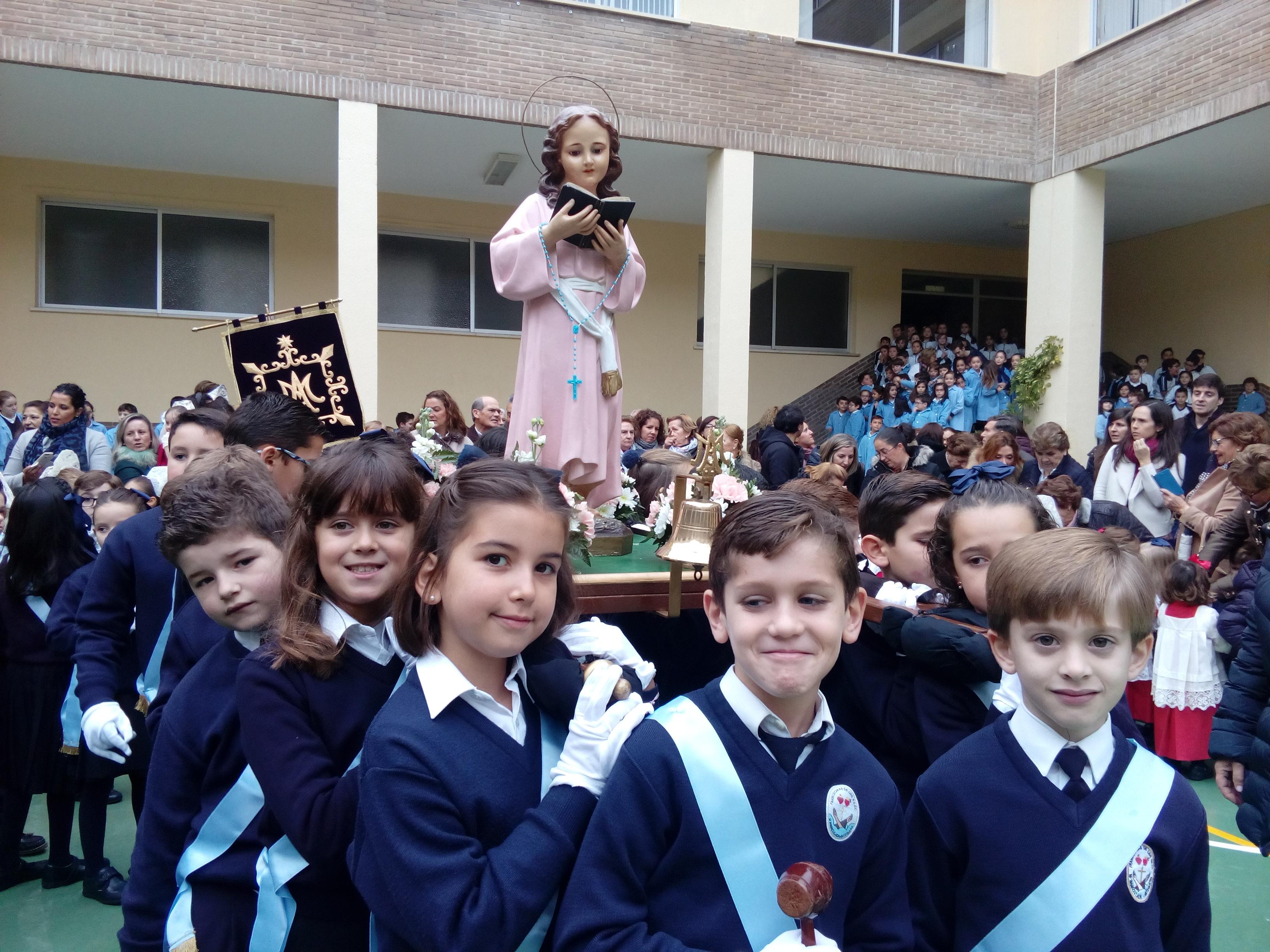 Celebramos la festividad de la Virgen Niña.