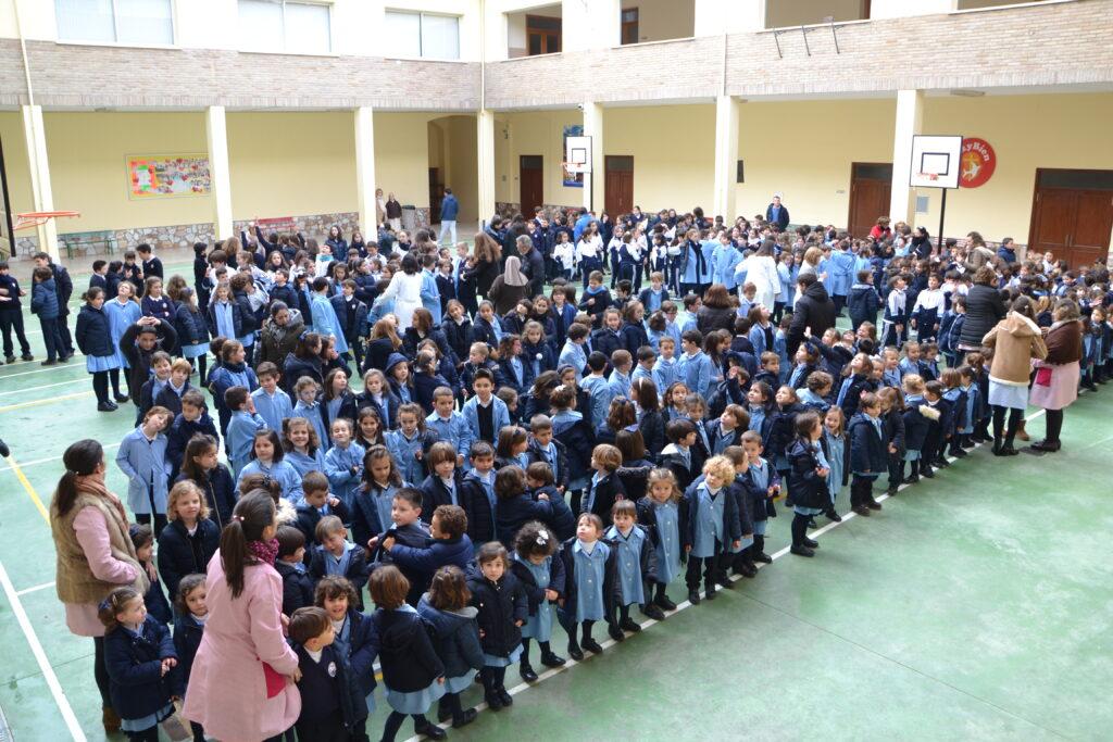 Celebración del día de La Paz. Etapa de Ed. Infantil - Ed. Primaria.
