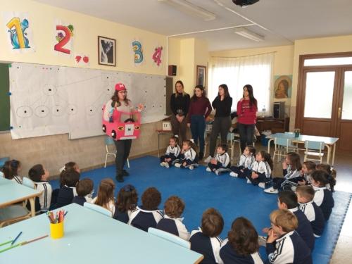 Cuentacuentos en Educación Infantil