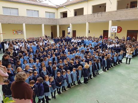 Celebración del día de La Paz. Etapa de Infantil y Primaria.