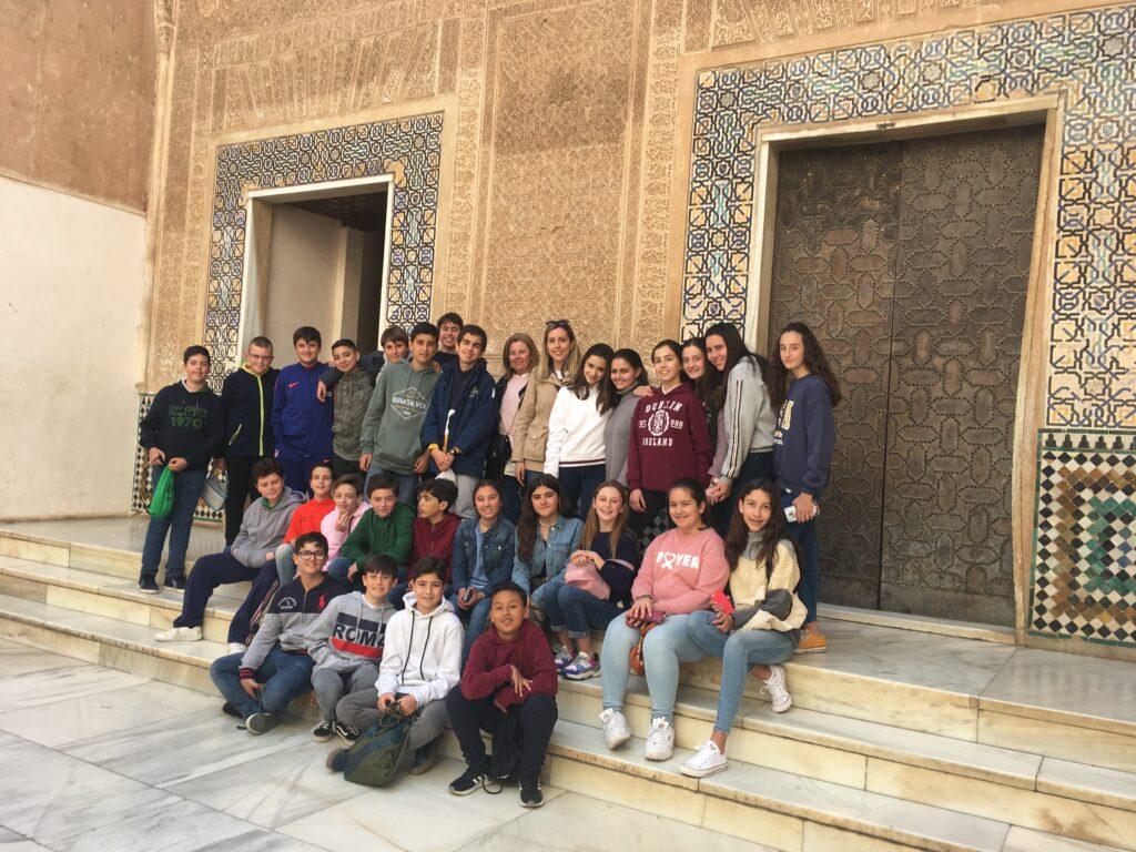 Excursión a Granada de 1º de E.S.O.