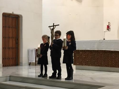 Vía- Crucis en Primaria