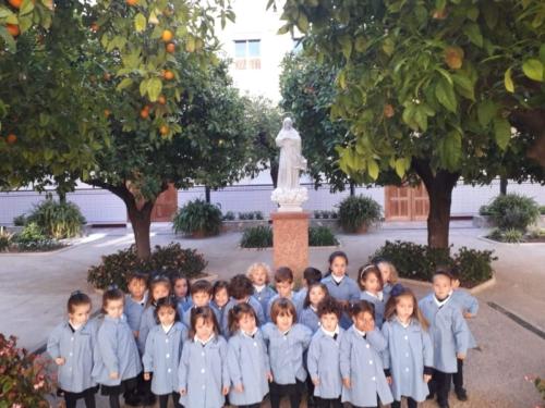 Via Crucis en Infantil