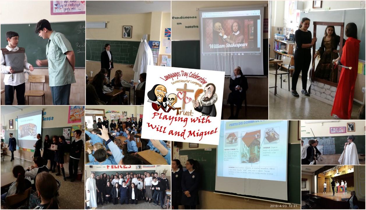 """Celebramos """"Languages Day""""-Día del Libro"""