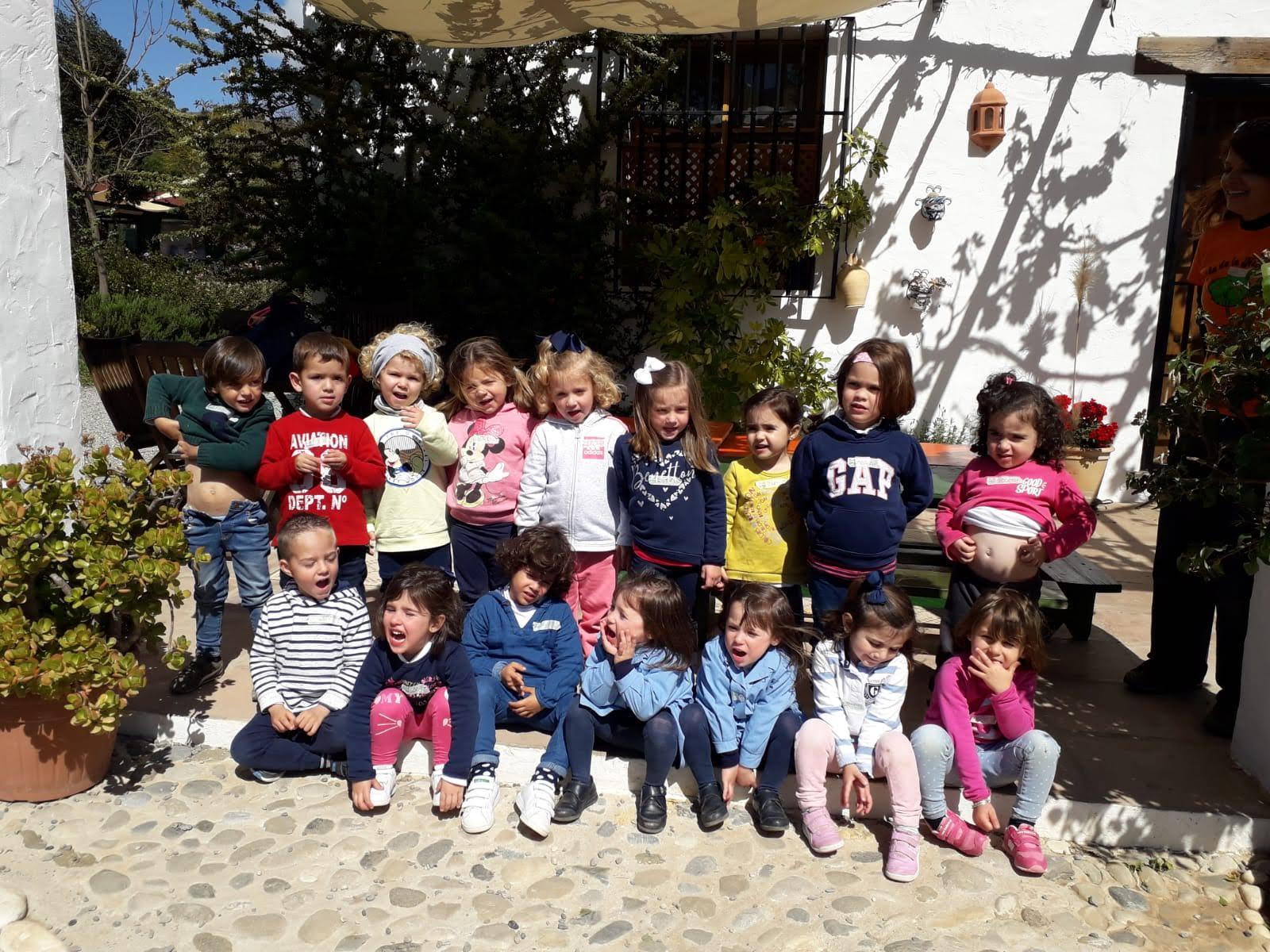 Excursión de Educación Infantil a la Granja Escuela