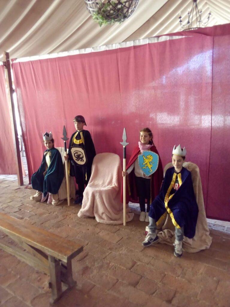 4° de Ed. Primaria visita el Castillo de Almodóvar.