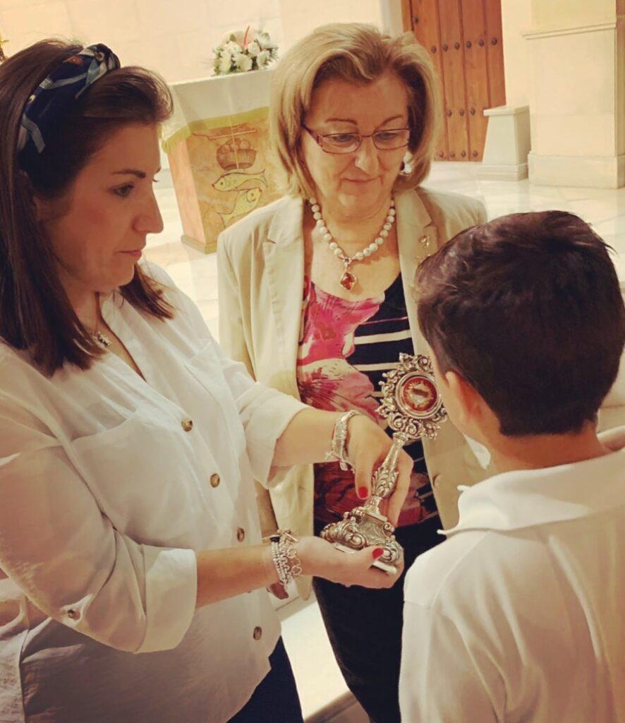 Veneración de las Reliquias de la Beata Madre Carmen del Niño Jesús.