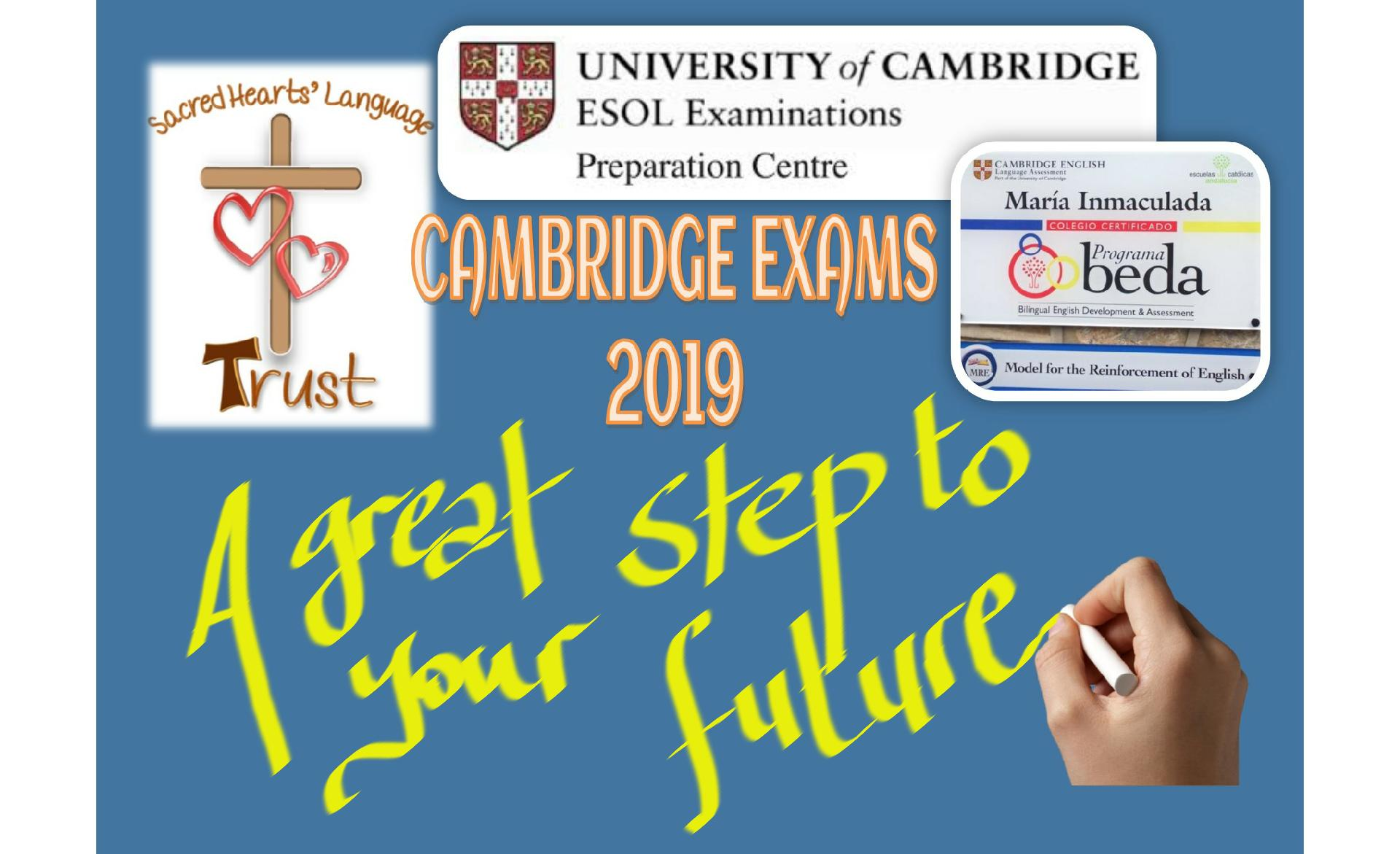 Cambridge Exams: se acerca vuestro momento