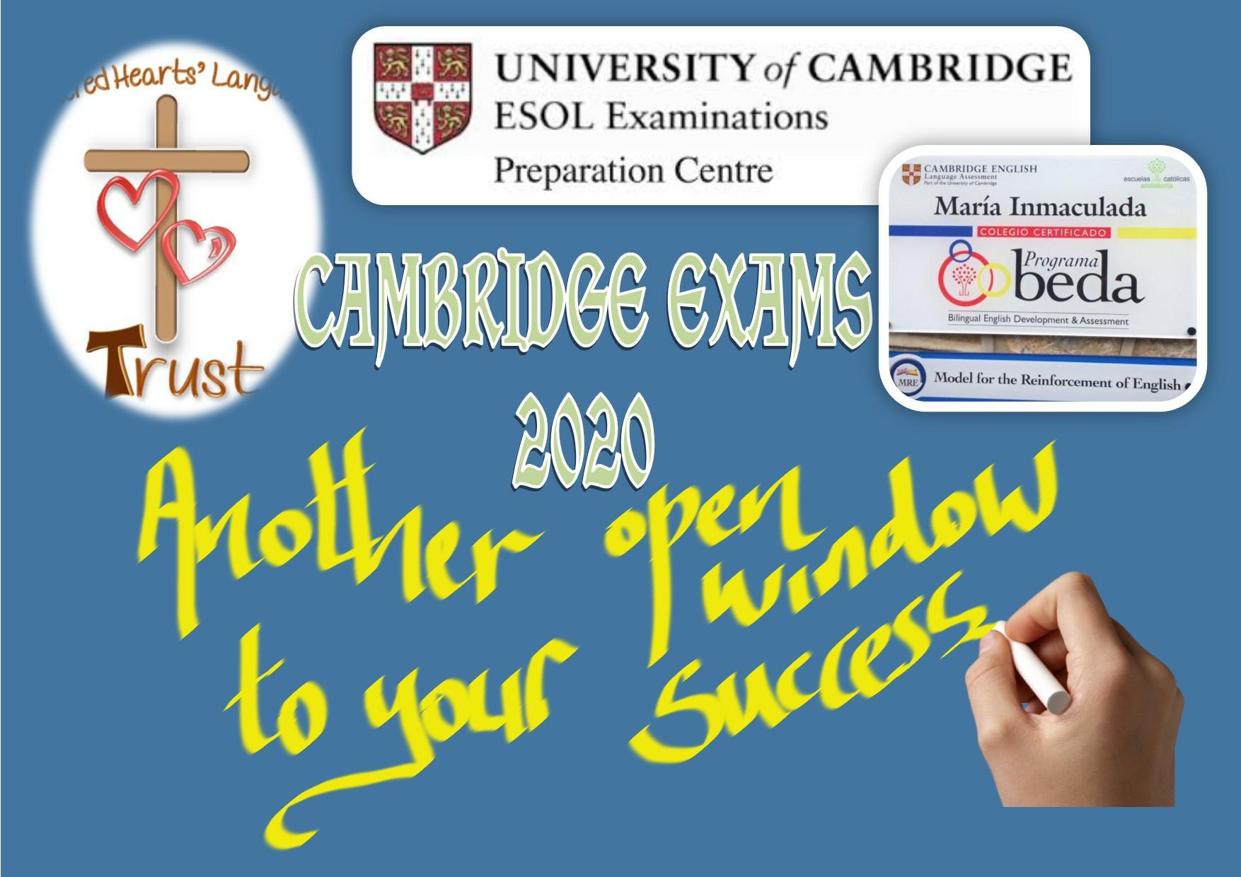 Convocatoria CAMBRIDGE EXAMS 2020
