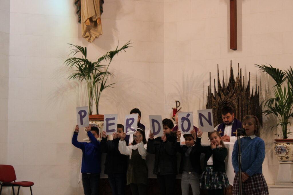 Celebración del Sacramento de la Penitencia. 3º de Educación Primaria.