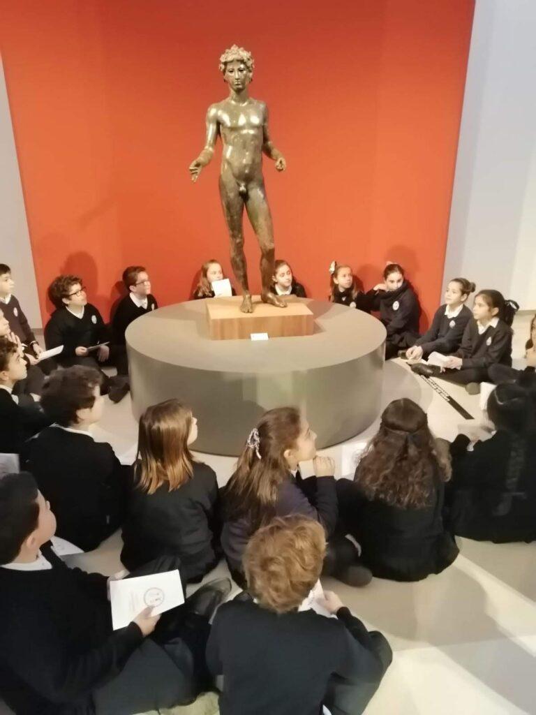 2º ciclo de Ed. Primaria visita el Museo de A.T.Q.