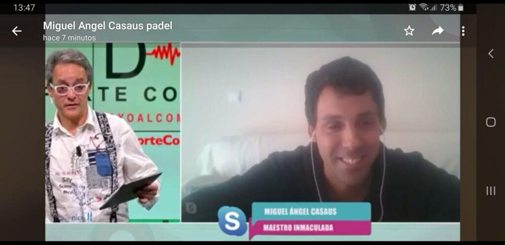 Miguel Ángel Casaus -Entrevista en 101 TV-